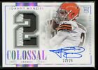 Johnny Manziel Signs Exclusive Autographed Memorabilia Deal with Panini Authentic 17