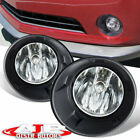 Chrome Driving Bumper Fog Lights Lamps +Wiring Switch For 2010 2013 Chevy Camaro
