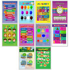 Ten Educational Posters for Toddlers and Kids for Preschool  Kindergarten