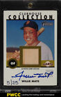 2001 Topps Heritage Clubhouse Collection Willie Mays AUTO BAT PATCH 25 (PWCC)