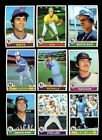 1979 TOPPS BASEBALL PARTIAL SET 575 726 HIGH GRADE NMMT *203779