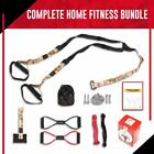 Body weight Fitness Resistance Training Kit Home Gym Equipment CAMO Color
