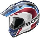 Arai XD4 Africa Twin White Red Blue Full Face Street Motorcycle Helmet All Sizes