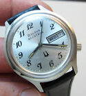 MINT SERVICED 2193.10 ACCUTRON BULOVA STAINLESS STEEL TUNING FORK MENS WATCH N7