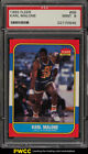 1986 Fleer Basketball Karl Malone ROOKIE RC #68 PSA 9 MINT (PWCC)
