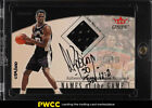 2001 Gleer Genuine Names Of The Game David Robinson AUTO PATCH 100 (PWCC)