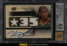 2008 UD Premier Attractions Kevin Durant AUTO PATCH 50 #ATKD BGS 8.5 (PWCC)