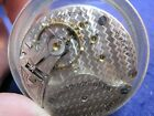 18s South Bend grade 333 OF LS pocket watch movement with private label dial