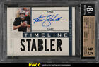2010 National Treasures Timeline Ken Stabler AUTO PATCH 20 #12 BGS 9.5 (PWCC)