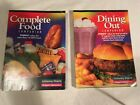 Lot WEIGHT WATCHERS 2001 COMPLETE FOOD COMPANION lot of 2 DINING OUT