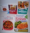 Lot 5 Weight Watchers Points plus books Power Foods Dining Out Good recipes ++