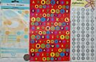 sm lot scrapbook stickers pop outs LETTER ABC alphabet to from chipboard