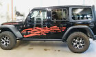 Jeep Gladiator JT Extra Large Side Drip Style Vinyl Graphics