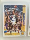 upper deck 1990-1991golden state warriors starting lineup autographed cards