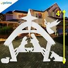 Christmas decorations nativity outdoor decoration outside yard easy storage Xmas