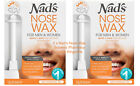 2 x Nad's Nose Wax for Men And Women 12g Shaving Nads Hair Removal Quick