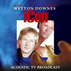 WETTON & DOWNES (ICON)-ACOUSTIC TV BROADCAST-JAPAN CD+DVD H66