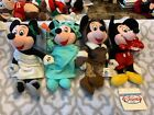 Vintage Disney Store Beanies: MICKEY & MINNIE MOUSE (4 VARIATIONS)!