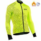 2019 Pro team Men Cycling Jackets Winter Thermal Fleece Jersey Bicycle
