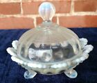 Imperial Glass Covered Butter Dish  Opel  Outstanding