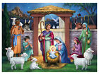 Holy Manger Nativity 1000 Piece 13 x 19 Paperboard Jigsaw Puzzle