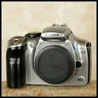 FREE UK POST CLEAN Silver Canon EOS 300D Digital SLR Camera + charger battery