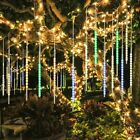 Christmas lights meteor shower raindrop cascading LED icicle snow multicolor