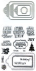 Christmas Tags  Sayings Clear Stamp  Die Set by Recollections 606743 NEW