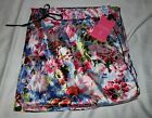 Victorias Secret x Mary Katrantzou Satin PJ Pajama Pants Large Pink Floral