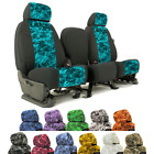 Seat Covers Mossy Oak Elements For Jeep Wrangler YJ Coverking Custom Fit