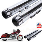 Megaphone 35inch Slip on Mufflers Exhaust Pipe Tip For Harley Touring 1995 2016