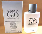 Acqua Di Gio 3.4 Oz Men Spray EDT Cologne Giorgio Armani TST Pour Homme New