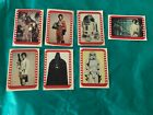 1977 Topps Star Wars Sticker Card Set OF 7