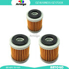 3 Pcs Engine Oil Filter Fit YamahaScooter VP125 X-City 2007-2012 2013 2014 2015