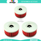 3 Pcs Engine Oil Filter Fit Suzuki VL125 Intruder LC 2000-2003 2004 2005 2006
