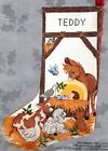 Candamar Manger Nativity Farm Animals Christmas Cross Stitch Stocking Kit 50355