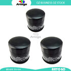 3 Pcs Engine Oil Filter Fit Suzuki RF900 RR,RS,1994-1996 1997 1998 1999 2000