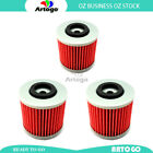3 Pcs Engine Oil Filter Fit Yamaha XVS250 Drag Star 2001 2002 2003 2004