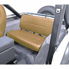 For Jeep Wrangler Cj Yj 55 95 New Fixed Rear Seat Tan X 1346104