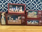 Enesco Precious Moments Complete Miniature Pewter Nativity Set NRFB + Angel