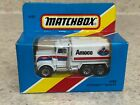 Matchbox 1981 MB5 Amoco Peterbilt Tanker - New in International Box