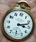 RUNNING 16s Hamilton ELECTRIC RAILWAY SPECIAL 17j pocket watch 974 Special RARE