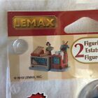 Lemax Kettle Corn Stand Christmas Village Set - New 2019 Food Train Town