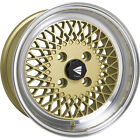 4 15x7 Gold Wheel Enkei Enkei92 4x45 38