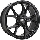 4 17x75 Black Wheel Enkei Vulcan 5x45 38