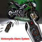 Two Way Motorcycle Alarm Anti-theft Security System Scooter Remote Engine