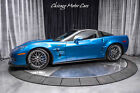 2009 Chevrolet Corvette ZR1 with 3ZR PACKAGE 2009 Chevrolet Corvette ZR1 with 3ZR PACKAGE Jetstream Blue Metallic Tintcoat