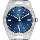 Natural Diamond Rolex Oyster Perpetual Steel Blue Brand New 39mm Mens Watch