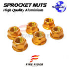 Wheel Sprocket Nuts M10 For Honda CB600F Hornet 1998-2000 CB300R Neo Sports Café