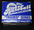 1988 Topps Traded Series Baseball Cards Complete Set In Box Abbott Wells
